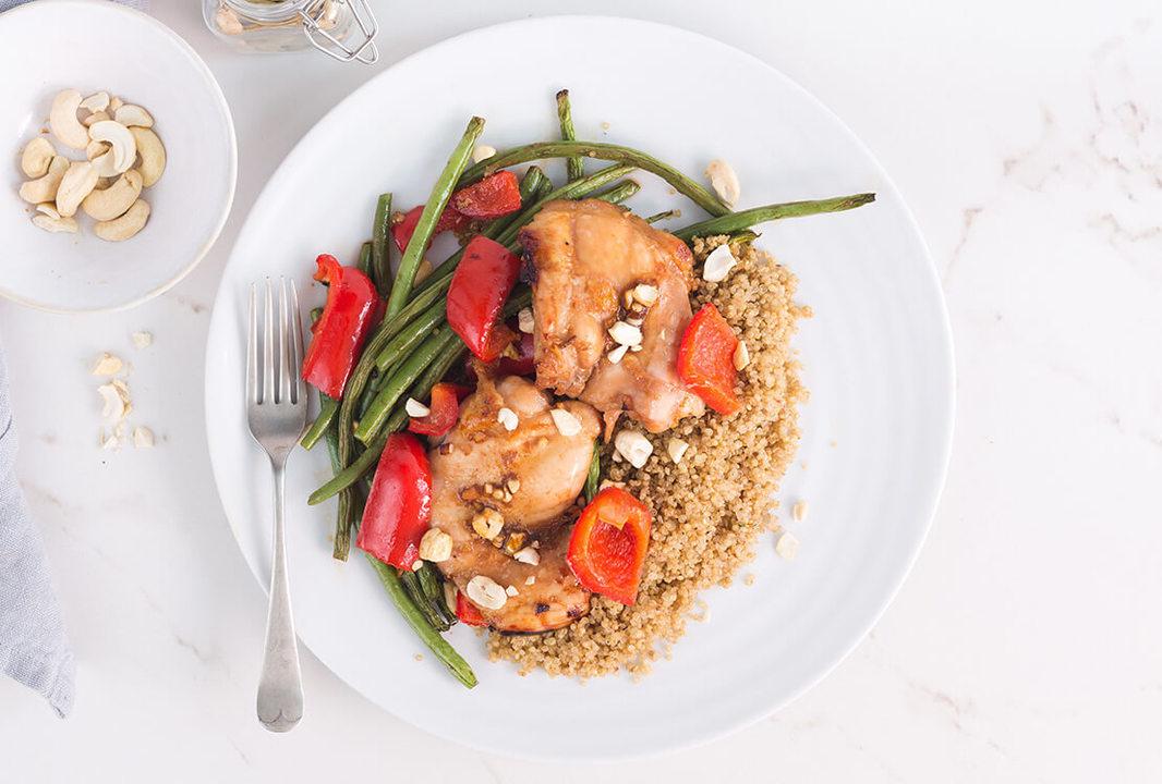 Healthy Chicken recipe   Cardamom & honey chicken thighs