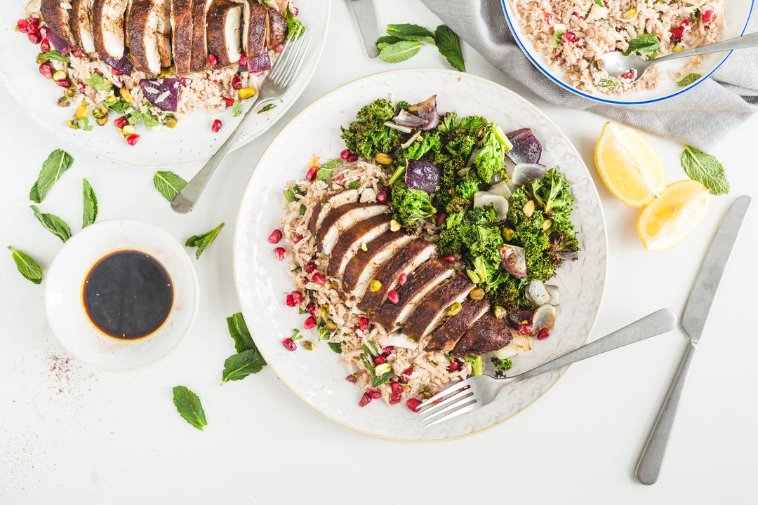 Healthy Chicken Recipe Middle Eastern Chicken Cauliflower